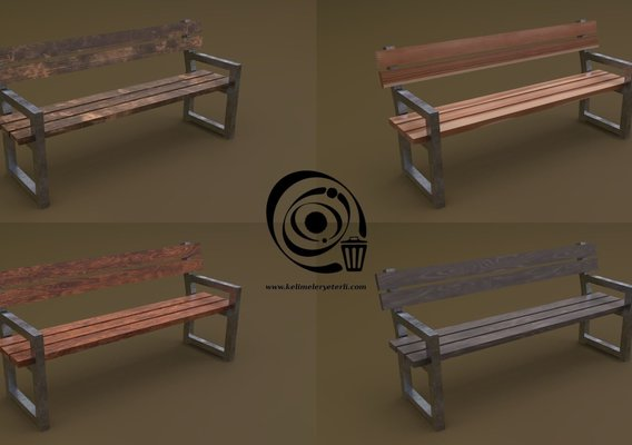 Bench 30 4in1 - 4 Texture 1 Model RR