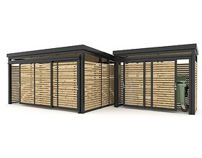 Shed Collection 3D model