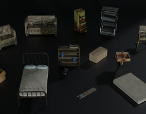 Apocalyptic furnitures 3D