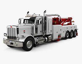 Peterbilt 388 Wrecker Truck 2014 3D