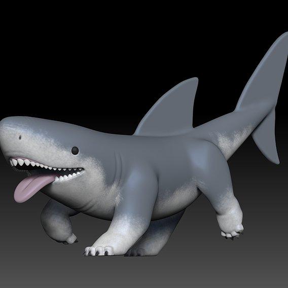 Pet Shark for 3D Printing