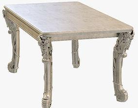 Kare Table Romantico Silver 3D model