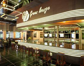 3D model Green Lounge Unreal