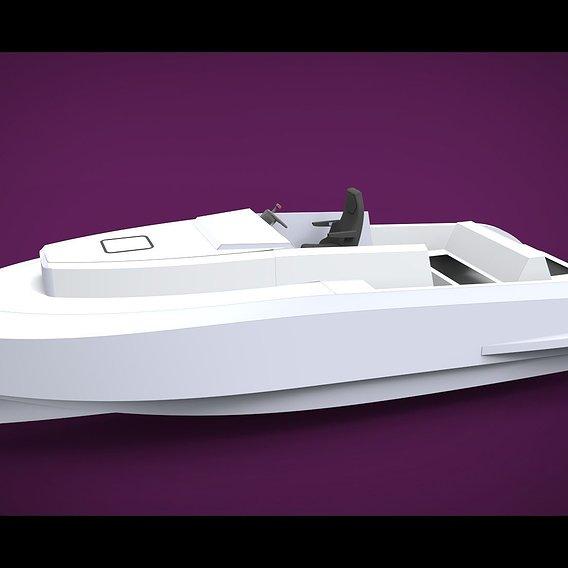 Aluminium boat 9.5 meters