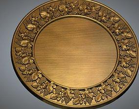 Round Frame antique 3D printable model