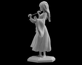 Skyward Sword Goddess Zelda Statue Figure 3D print model