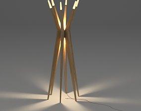 Floor lamp light 3D model