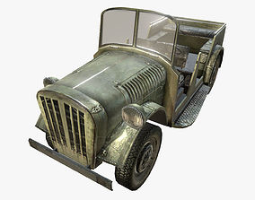 3D model German WWII Military Car