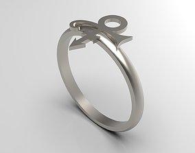 3D printable model Prince Sott Mini Vertical Love Ring 2
