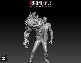 Resident Evil 2 William Birkin 3D print model