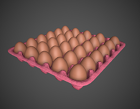 Eggs with Box 3D