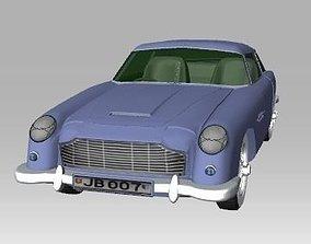 Aston Martin DB5 3D asset