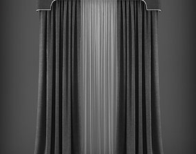 game-ready Curtain 3D model 269
