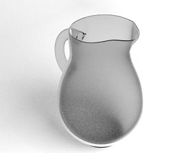 3D model Jug Glass