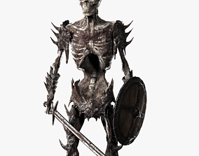 Undead Warrior 3D model