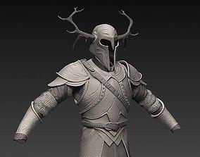 3D model Zbrush Fantasy Armor