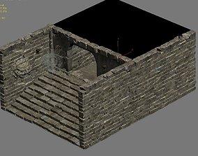Underground palace - exit 3D