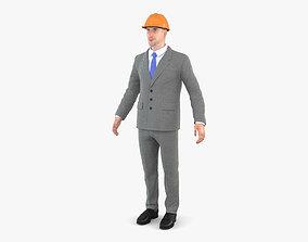 3D model Architect human