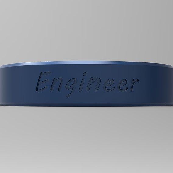 Engineer Ring Blu