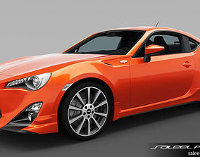 3D model Toyota GT86 TRD 2014