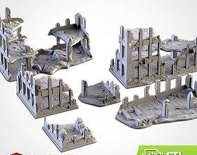 CITY RUINS 3D print model