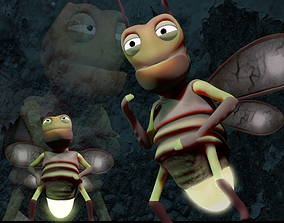 FIREFLY animated 3D asset