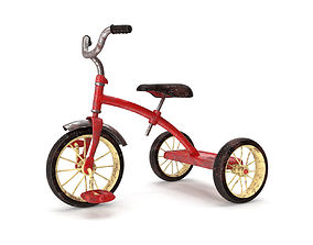 3D Realistic OId Tricycle