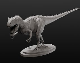 Allosaurus model intended for 3D printing