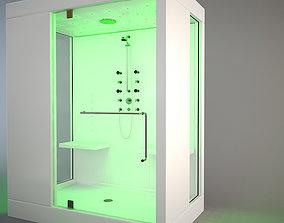KOS Kosmic 2 hydromassage cabin 3D model minimal
