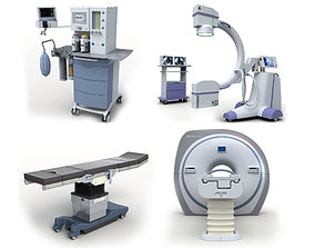 Medical Equipment Pack 3D model