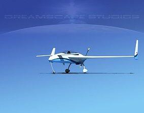 Rutan Long-EZ V10 3D