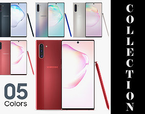 3D Samsung Galaxy Note 10 All Colors