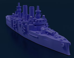 Battleship SMS Babenberg 3D printable model