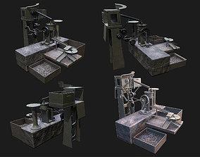 3D model AMMO Making Machine WWII