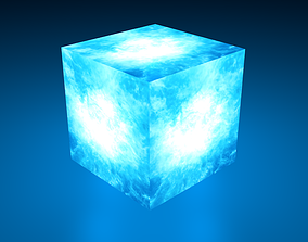 Tesseract from Marvel Cinematic Universe 3D model