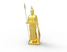 Scanned Athena Statue 3D print model