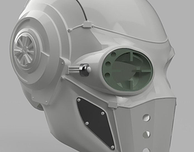 Deadshot Injustice 2 Concept Helmet 3D printable model