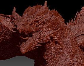 3D model Dark Dragon Killgharrah