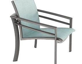 Tropitone KOR Relaxed Sling Lounge Chair 3D