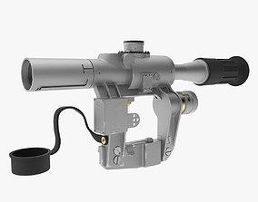 Optical Sight PSO-1 3D model