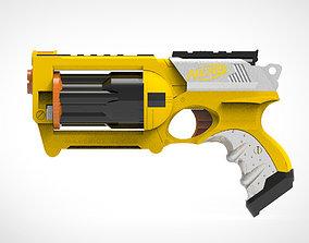 toy 3D Nerf Gun Maverick Model