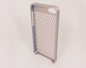 3D printable model Honeycomb iPhone 5S Case