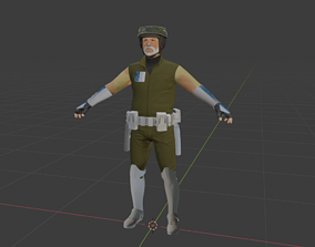 3D model Rex on Endor