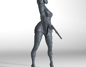 3D model Princess Leia fantasy