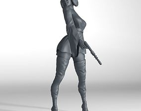 3D model Princess Leia fantasy