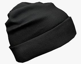 3D asset VR / AR ready Winter Hat