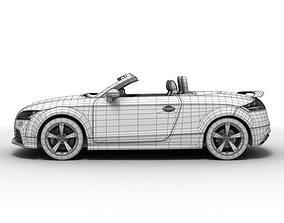 3D Audi TT RS Roadster 2010