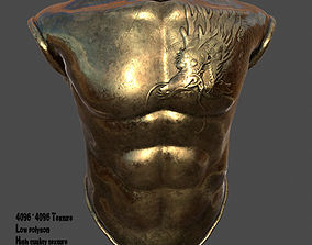 3D asset game-ready armor 4