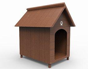 dog Dog House 3D model