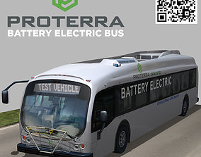 3D model Proterra electric 40 Foot Transit Vehicle